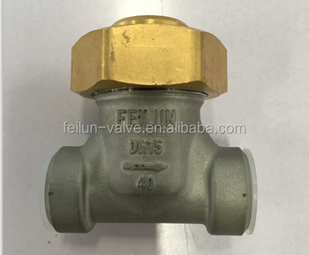 DH-15 ISO9000 feilun brand SS304 DN15 Cryogenic Check valve for liquid gas