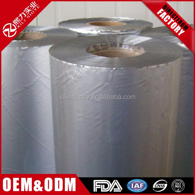 high quality custom Food Silver Zip Lock Aluminum Foil Bag