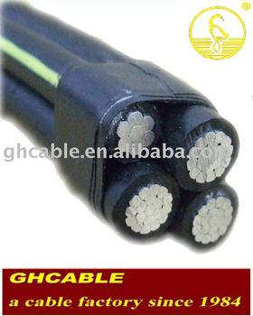 ABC Cable Insulated Aerial Cable Aerial Bundled Cable