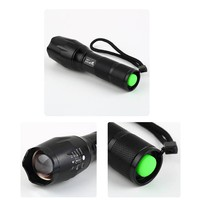 1000LM UltraFire CREE XML-T6 LED Zoomable Tactical Flashlight+18650 Battery+Charger LED Torch Flashlight