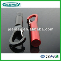 Professional supplier aluminium carabiner keychain light