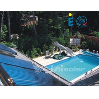 Water Heater Application and Pressurized Type swimming pool solar panels for sale