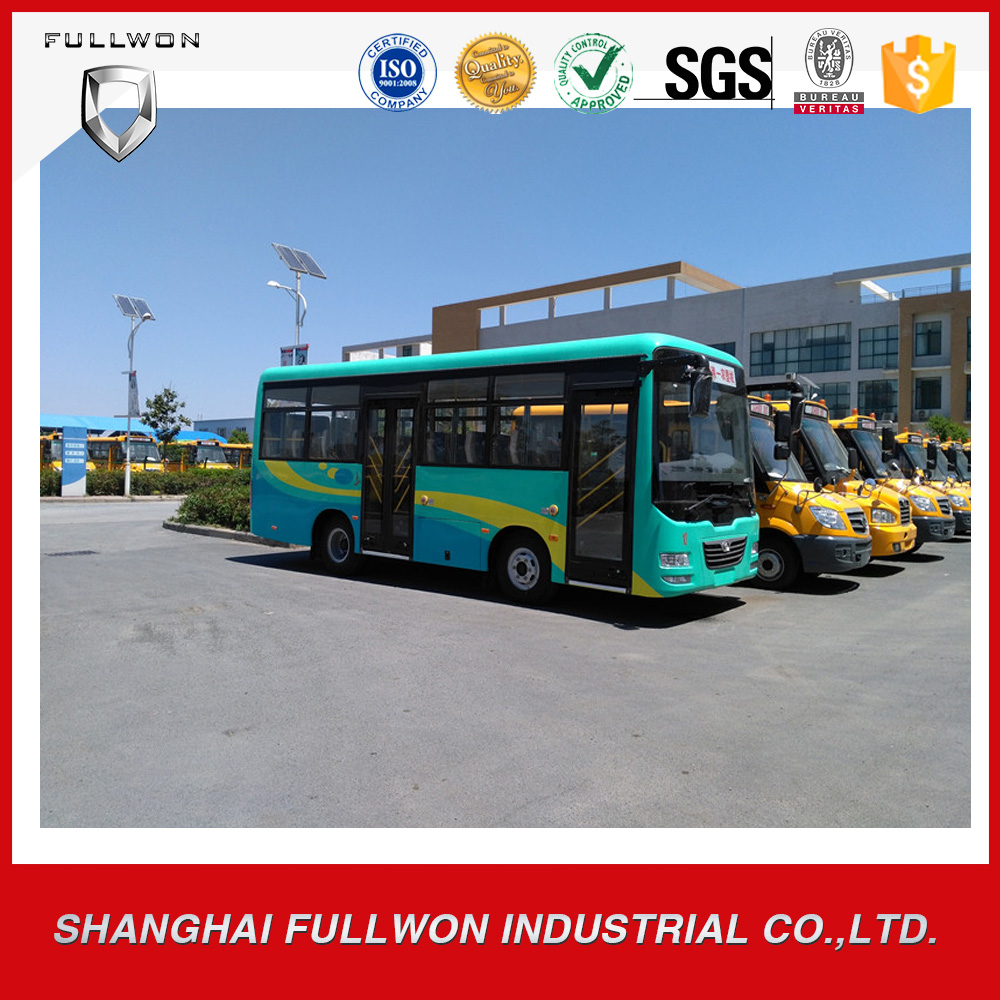 widely used 30-33seats 7.3m front engine passenger bus for sale in UAE