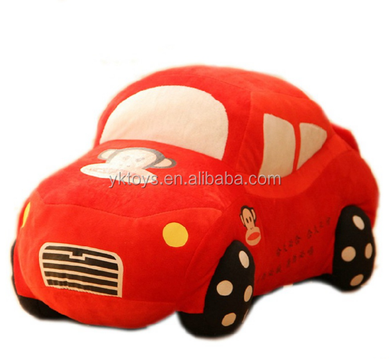 Customize baby soft toy car kids small toy cars stuffed plush lovely car
