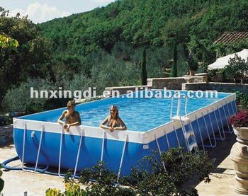 hot selling frame swimming pools square above ground pool buy square above ground pool frame
