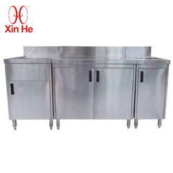Commercial Stainless Steel 304 Modular Kitchen Cabinets
