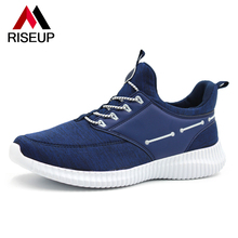 Soft Comfortable Breathable Man Running Shoes Mesh PU