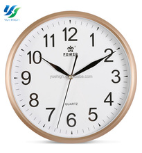 Hot Selling Aluminum Round Wall Clock Quartz Clock Movement Diy Clock