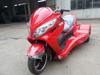 2016 new three-wheel tricycle with CVT,300CC EEC trikes,reverse trikes