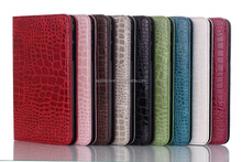 Luxury Crocodile Pattern PU Leather Stand Case For Samsung Galaxy Tab 4 8.0 T330