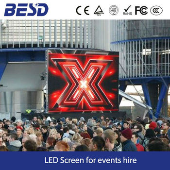 hot sale outdoor led display monitor for hire