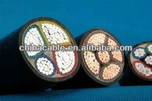 hot sale copper conductor power cable 4 cores
