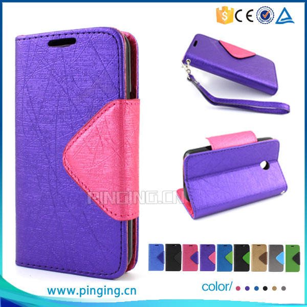 Funky Mixed Color Lady Wallet Style Leather Flip Cover For Xiaomi Mi 5S Plus