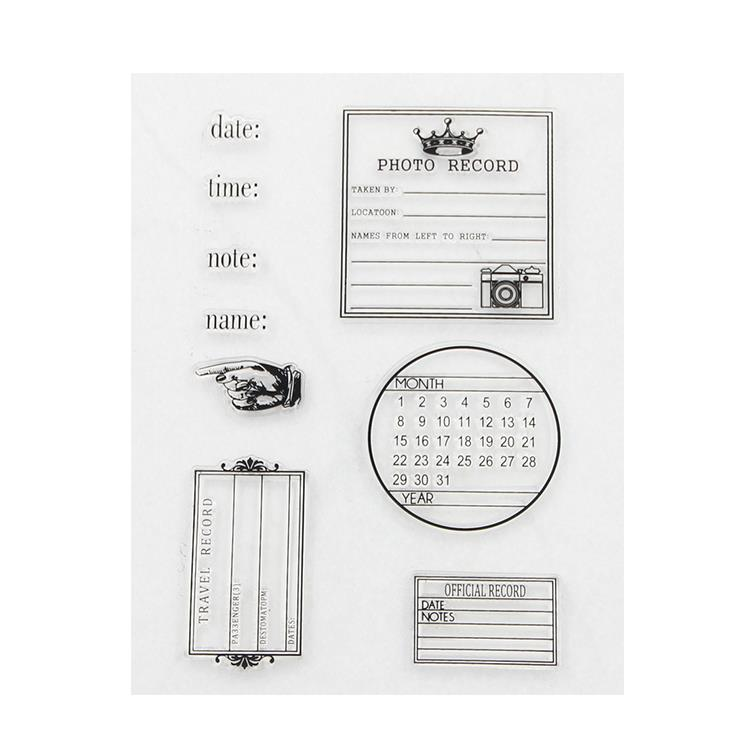 Sedex Factory Audit Impressive Lovely Custom Rubber Scrapbooking cheap clear stamp for card making