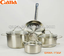 2014 new product/ Stainless steel kitchenware set / induction pots and pans/ kitchen utensil
