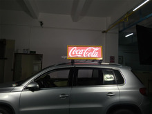 Waterproof IP65 Video Car LED Sign Display ,Taxi LED banner signs/ Car LED Sign Display:P5