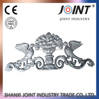 wrought iron rosettes and panels,ornamental cast iron panel