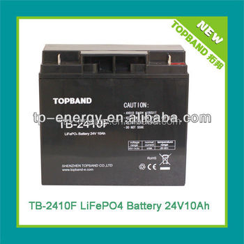 UN38.3 lithium ion golf cart batteries 24v 10ah