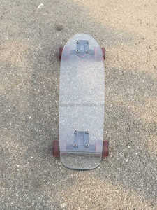 Canadian maple polycarbonate skateboard deck supplier