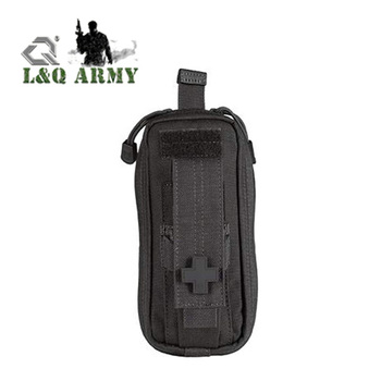 Tactical Unisex 3.6 Medical Kit Pouch With Cross Patch
