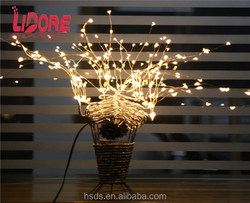 solar micro battery operated led copper wire fairy curtain light led mini copper wire string lights