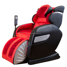 Full body pu leather cover L shape full 3D zero gravity massage chair
