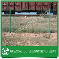 Park fence railway border wire mesh border fence netting