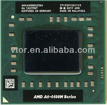 Nice Condition Cheap Price AMD A6-Series A6-4400M - AM4400DEC23HJ Socket FS1 Used Processor