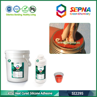 SI2295R RTV / Heat Cured Silicone Potting Adhesive /PCB silicone sealant