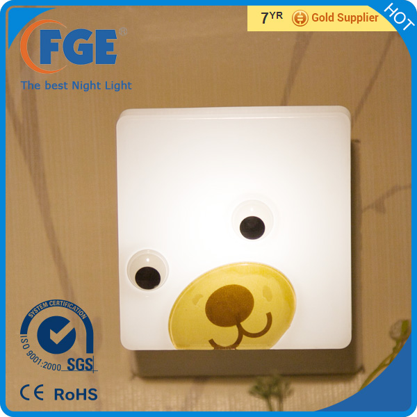 FGE Cute Shape Sensor LED Kids Decorative Night Lights