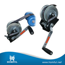 hand control electric piling winch rope guide manual winch heavy winch