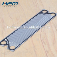 Replacement alfa laval heat exchanger plates, stainless steel, Alloy C276,18Ni