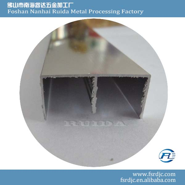RUIDA Cheap Bathroom Wall Accessories Aluminium Edging Strip for Glass
