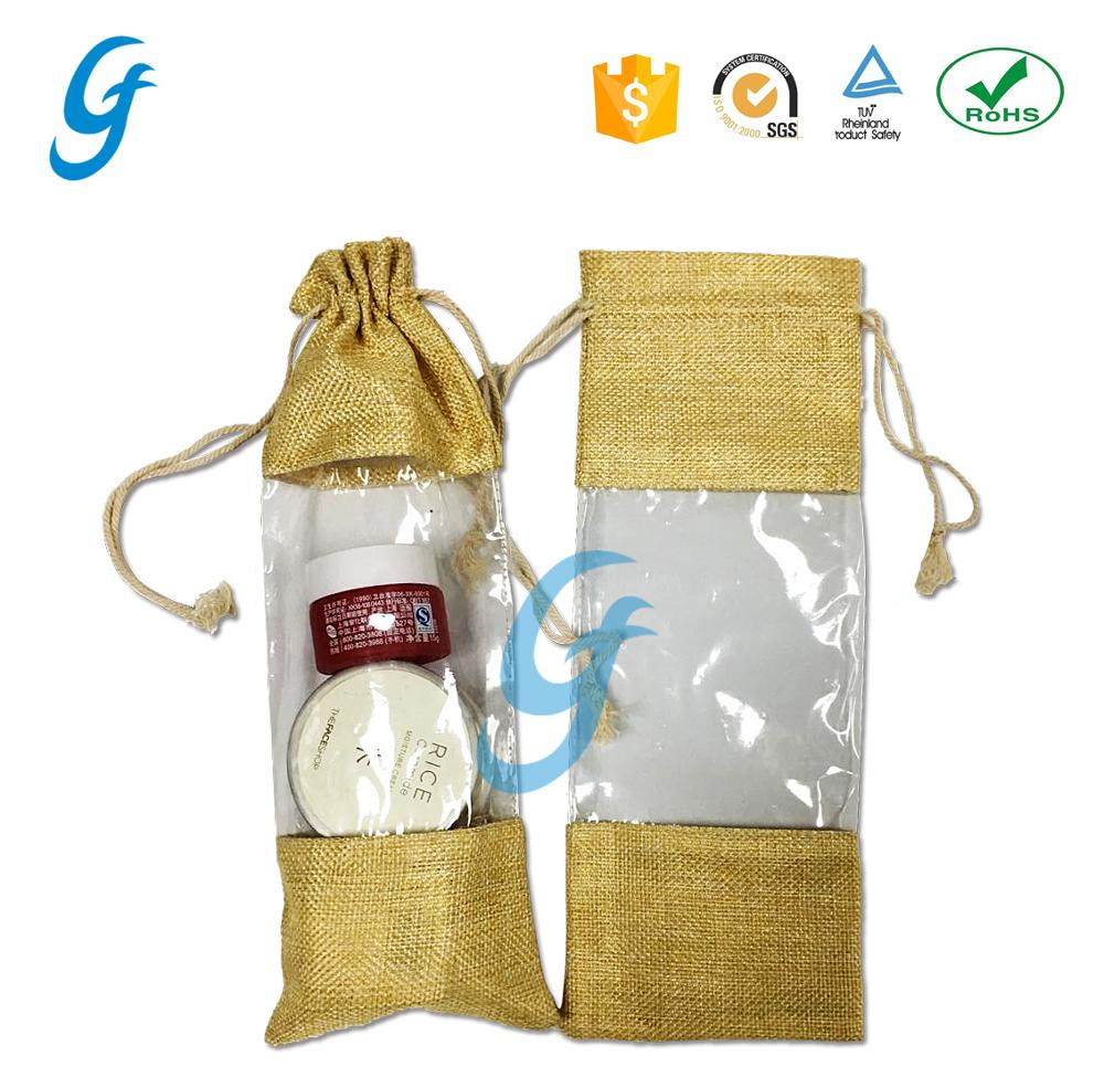 High Quality Organza Gift Bags Natural Jute Bag