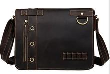 Genuine Leather Messenger Men's Shoulder Business Bags
