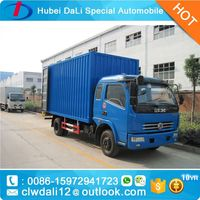 6tons Truck DONFGE Delivery Vans For Sale 4x4 Cargo Van Truck,CLW Van Truck for sale, Mini Cargo Van /Light Van Truck