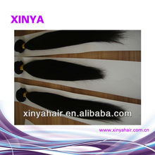 Fashion export virgin remy Brazilian hair extensions/40 inch human hair weave