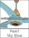 New Design Sky Blue Electric Ceiling Air Cooling Fan