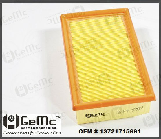 SPECIAL SALE! Air Filter OEM Quality 13 72 1 715 881