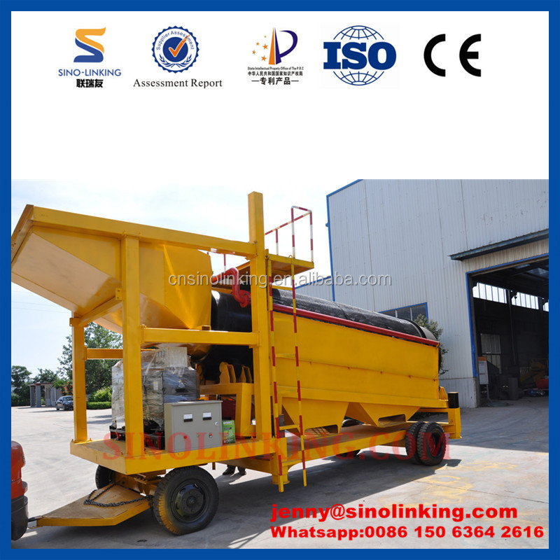 Widely Used SINOLINKING Gold Trommel Screen for Sale