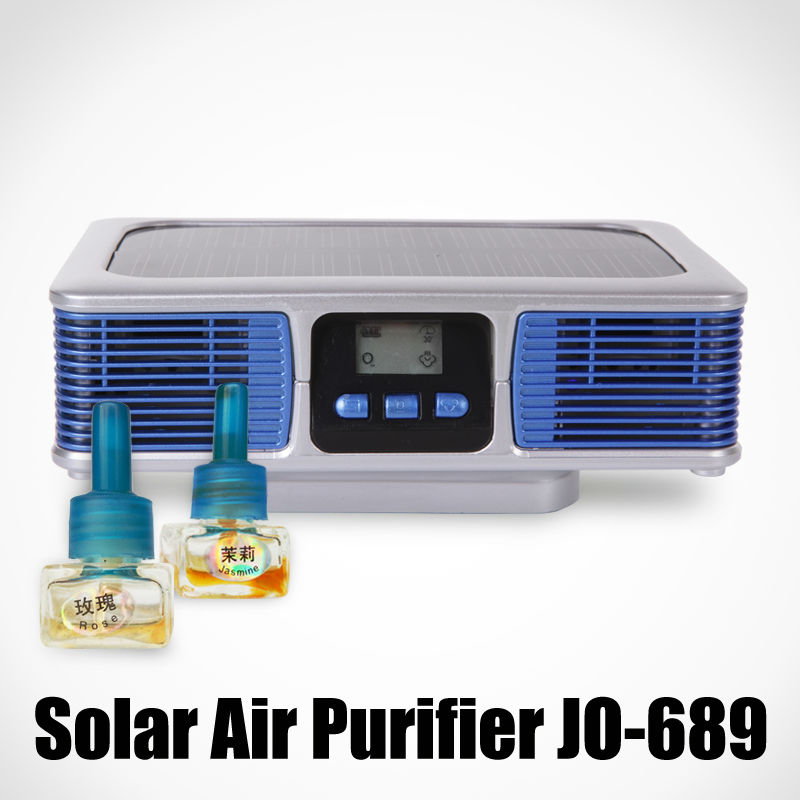 The Latest Solar Car Fragrance JO-689 (Automatic Changing Odor Fragrance)