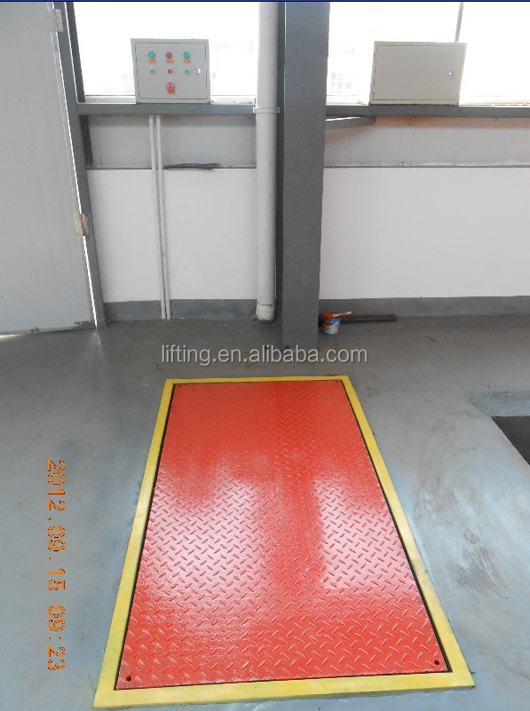 3t 3.5m hydraulic auto lift car lifts