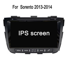 Special for kia sorento android dvd with 8inch capacitive screen/3g/wifi/gps support bt
