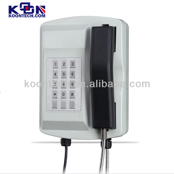 Waterproof phone KNSP-18 Security Telephones architectural approach