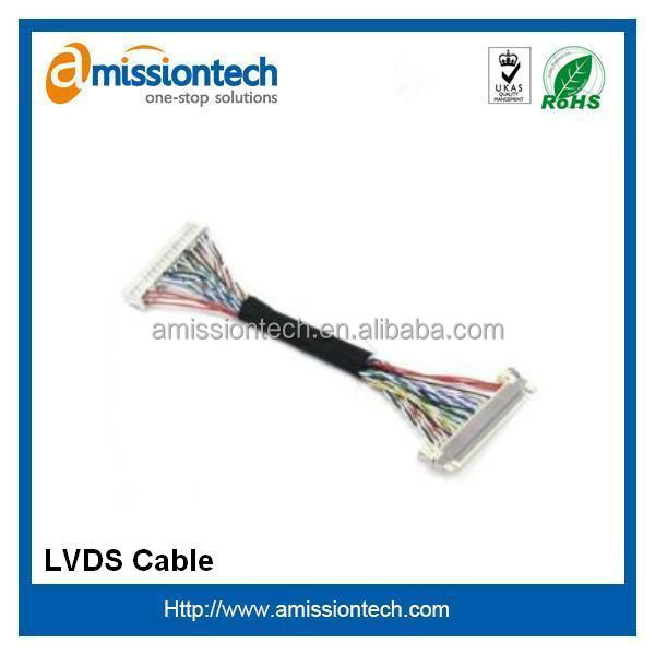 Cat 5e LVDS cable OEM service with Rohs and ISO9001