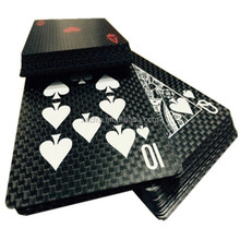 Creative carbonfiber product carbon fiber sheet poker /playing cards