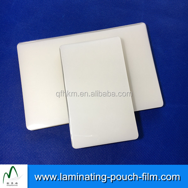 Various Sizes PET Shrink Film Plastic Laminating Pouches Film To Give a Crystal Clear Appearance