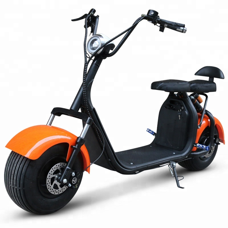 1000w harley electric scooter citycoco scooter with removable battery max speed 60km/<strong>h</strong>