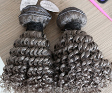 express ali grey color curly free sample hair bundles for old women human hair weft cash on delivery in india