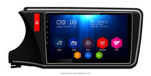 Full Touch /10.1 inch large screen Android 6.0 car dvd radio GPS navigation stereo for 2014 Honda City